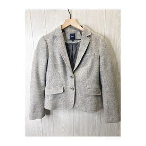 GAP Blazer Women's Gray Size 6